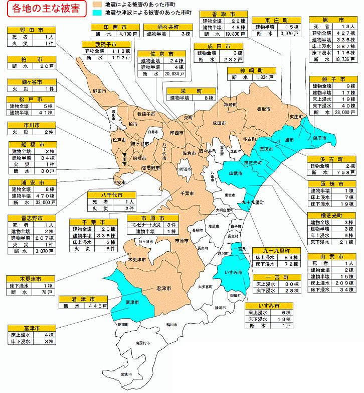 東京 東日本 震度 大震災